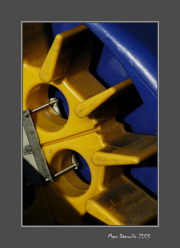 Pedalo wheel