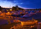 Tobermory Harbor at Dusk 12804