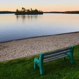 Longbow Lake Bench