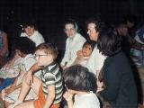 Visit to Evangelical Home by Bob Grupp Family - ca 1964 - Upper left - Elizabeth, Susan, Sr. Mary Jeanne - Paul at lower left
