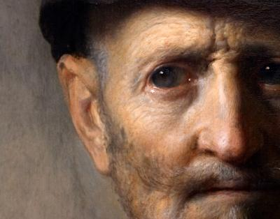 Rembrandts Old Man in Militray Costume