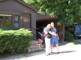 Frances and Doyle at Silver Saddle Motel in Boulder CO.