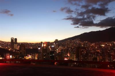 Vista del Oeste de Caracas, desde helipunto del Centro Empresarial Sabana Grande 3