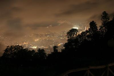 Oeste de la Ciudad de Caracas visto desde el cerro El Ávila
