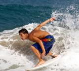 Surfing, Haifa Beach, 2005