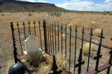 Cemetery in Goldfield