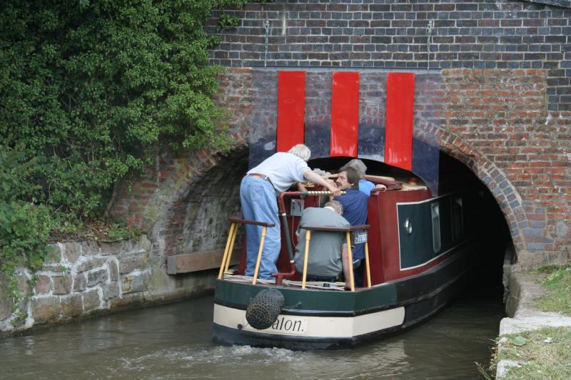 Getting to the opening was restricted to boats that could get through Froghall Tunnel!