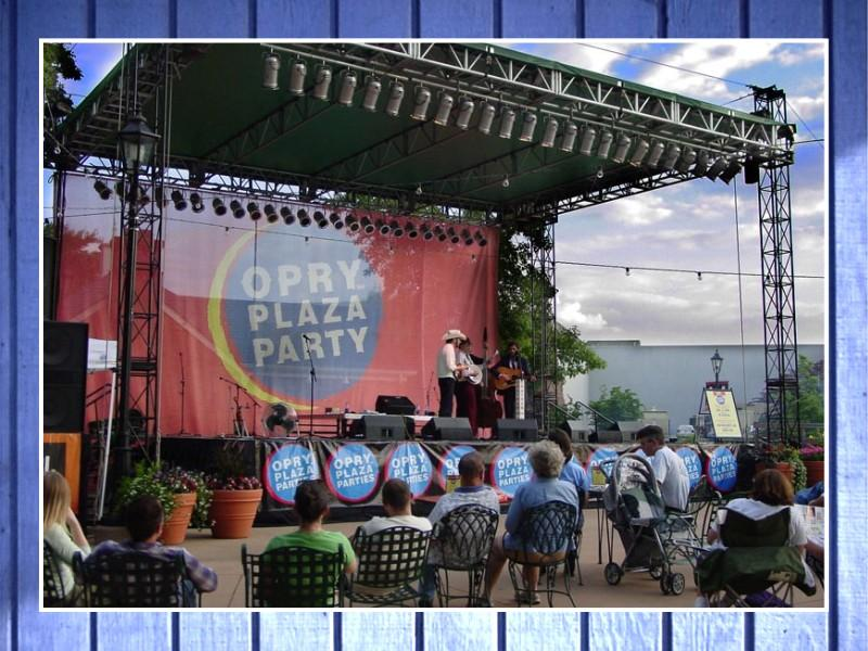 Opry Plaza Party