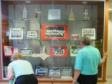 Knothole Baseball Display