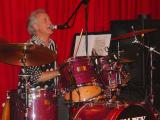 Alan on drums