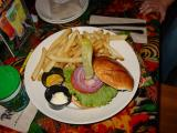 Rain Forest Hamburger (excellent)
