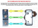 82FC35RB AIR STEP MICRO SWITCH