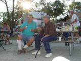 RANDY AND BILL KIRSCHNER IN DEEP DISCUSSION