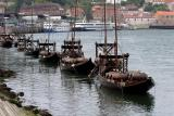 Port boats on the river Douro