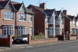 Typical British suburban street (Crewe)