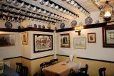 Inside a tea room (Whitby)