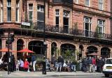 A London pub on a warm day