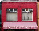 The pastel shades of Georgetown