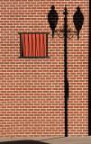 Wall, window, shadow in Cody
