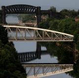 Bridges on the Manchester ship canal