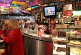 Snack bar in Schiphol