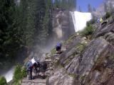 Vernal Falls - The Mist Trail