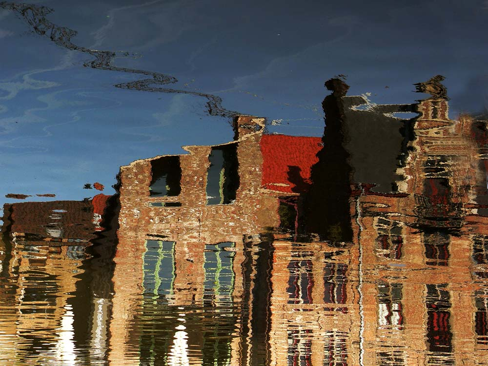 Reflection in water (4): Inversion, Ghent, Belgium, 2005