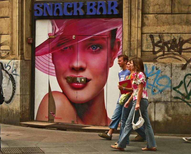 Snack Bar, Zagreb, Croatia, 2005