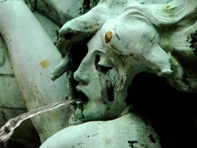 Detail, Brabo Fountain, Antwerp, Belgium, 2005