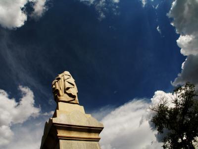 Eternity, Fairview Cemetery, Santa Fe, New Mexico, 2005
