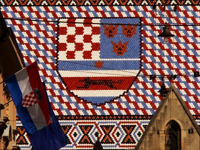 Roof Tiles, Church of St. Mark, Zagreb, Croatia, 2005
