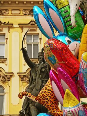 The Chase, Jelacic Square, Zagreb, Croatia, 2005
