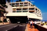Monaco: The exit of the tunnel. An F1 car would have hit almost 300km/h by this stage.