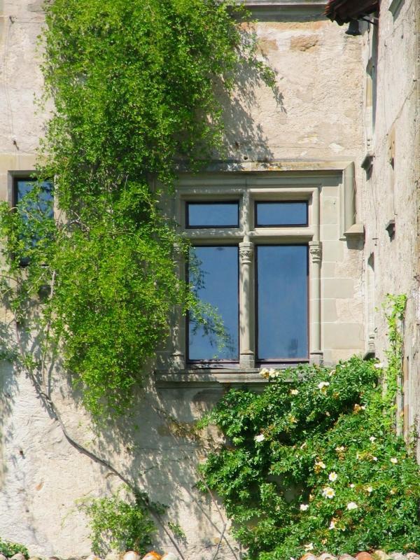 la fenêtre , Yvoire