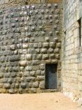 Porte dérobée , château de Joux