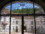 Grille d'entrée, Château de Bazoches