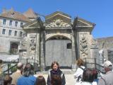 Porte d'entrée , Château de Joux