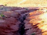 De la route, entre les deux antelope canyon