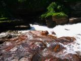 Kabir kouba ,le bas de la chute
