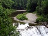 la courbe de la rivière