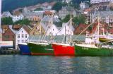 4 Bateaux à Bergen