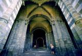 entrée sous la cathédrale Notre Dame