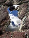 les nuages dans l'eau