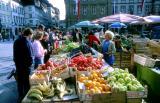 Le marché aux fruits Bamberg