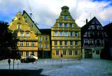 Les maisons jaunes de Nordlingen