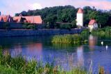 L'étang des douves de Dinkelsbühl