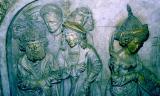 sculpture dans la cathédrale de Bamberg