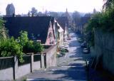 rue sympa à Dinkelsbuhl