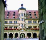 la place de la ville ,  Rottenburg