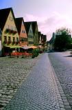 rue pavée, Dinkelsbuhl
